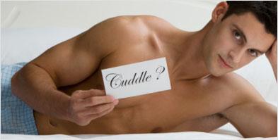 Coital cuddle